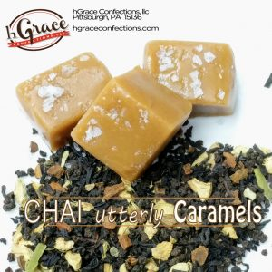 CHAI caramels with the wonderful taste of, you guessed it, CHAI.