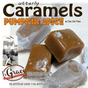 Pumpkin Spice caramels! Closing your eyes and simply enjoying all natural ingredients, while sitting